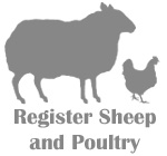 Register Sheep and Poultry...